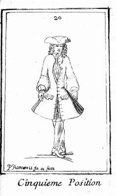 Pierre RAMEAU, Le maitre à danser, 5e position