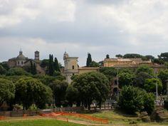 El lugar donde estaba el circo de Máximo. Roma Italia