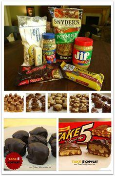 Take 5 Copycat Candy recipe