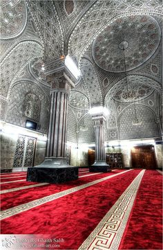 Mosque of Sheikh Abu Hanifa in Baghdad, (Iraq).A beautiful example of Islamic Architecture Abu Hanifa, Bagdad, Mosque Architecture, Art And Architecture, Beautiful Architecture, Beautiful Buildings, Beautiful Mosques, Beautiful Places, Beautiful Pictures