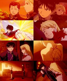 Fullmetal Alchemist: Roy Mustang and Riza Haweye  |  Sorry, not sorry for the upcoming FMA, more specifically Roy/Riza, spam!!