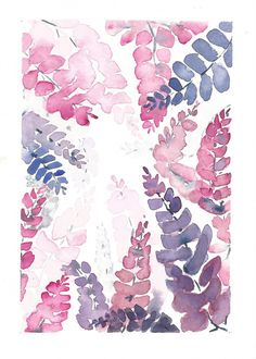 Wisteria Watercolor Painting, Original Watercolor Painting, Purple Flowers, Watercolor Wisteria, Watercolor Flowers Painting,abstract floral, floral decor, floral wall art ORIGINAL WATERCOLOR PAINTING Introducing my new Wisteria Watercolor Collection. Infuse any room with warmth and style with this beautiful watercolor painting of Wisteria. The painting will also make a wonderful house warming, anniversary or wedding present. Painted with high quality watercolors on 300 gsm watercolor…