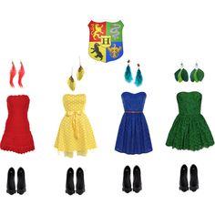 """harry potter bridesmaid dresses"" by kristiinaxxkranz on Polyvore"