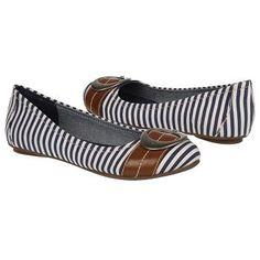 Dr. Scholl's Franca Shoes (Navy/White Stripe) - Women's Shoes - 11.0 M