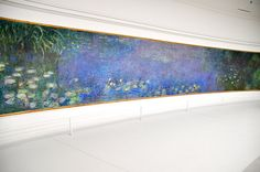 Monet's Water Lillies @ Orangerie Musee in Paris, France