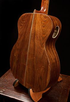 Handmade Chechen Guitar by NC luthier Jay Lichty