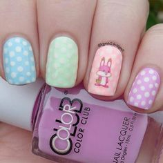 A round-up of the best Easter nail art ideas