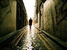 It goes on Rain Photography, London Photography, Video Photography, Photography Tutorials, Street Photography, Rainy Day Images, Vanishing Point, Digital Photography School, Photography Challenge