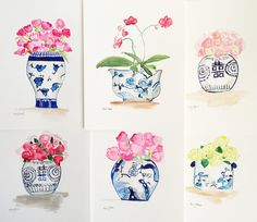 Chinoiserie Chic: Drawings by Kerry Steele