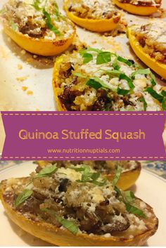 These quinoa stuffed