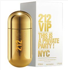 dd1b2e16254a8 Perfume 212 Vip Feminino Eau 50ml - Carolina Herrera em 12X de R  27,