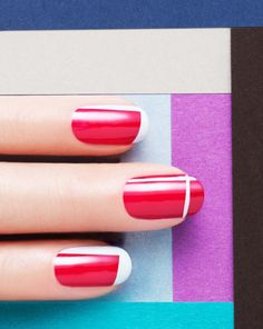 Abstract Nails by JINsoon | Sephora Beauty Board #Sephora #nailart