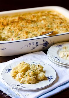 A Spicy Perspective Crab and Gnocchi Gratin - A Spicy Perspective