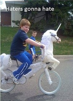 Gingers are like unicorns...so this picture makes perfect sense to me