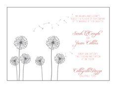 CottonPaperie Letterpress Wedding Design