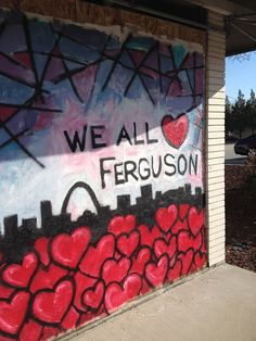 Ferguson Faith Files: A Journalist's Reflection Southwestern College, Art Therapy, Cry, Reflection, Action, Neon Signs, Faith, Group Action, Loyalty
