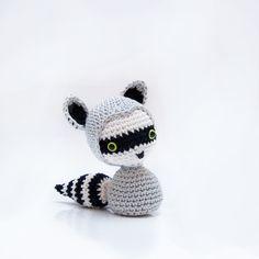 Amigurumi Raccoon - FREE Crochet Pattern / Tutorial