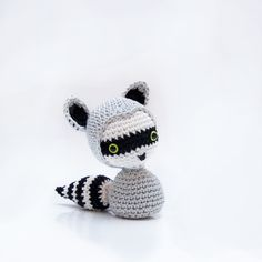 Amigurumi Raccoon - FREE Crochet Pattern / Tutorial