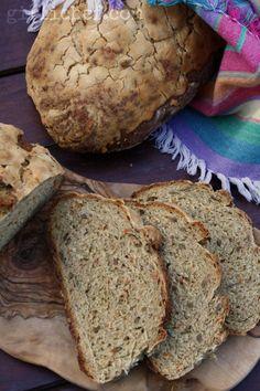 Carrot Bread {Bread Baking Babes}   www.girlichef.com