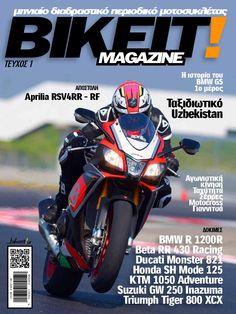 Το Bikeit E-Magazine είναι το πρώτο ολοκληρωμένο διαδραστικό περιοδικό μοτοσυκλέτας στην Ελλάδα. Νέα από όλο τον κόσμο, νέα αγοράς για τον αναβάτη και την μοτοσυκλέτα, ρεπορτάζ, ταξιδιωτικά και τεχνικά άρθρα, όλη η αγωνιστική κίνηση του μήνα που πέρασε, και φυσικά, δοκιμές και παρουσιάσεις μοτοσυκλετών, ATV και scooter αλλά και τα τελευταία νέα μοντέλα της αγοράς. Στο ηλεκτρονικό περίπτερο του Issuu.com, κάθε μήνα ο αναγνώστης θα βρίσκει πλέον και την ''έντυπη'' έκδοση του καθημερινού… Ducati Monster 821, Motocross, Atv, Honda, Racing, Bike, Adventure, Running, Bicycle