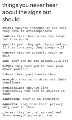 tbh i feel like i'm setting an example for all the insecure girls. they come up to me and compliment me, ask me how i do it. walk with confidence, etc. i feel like they could live up to that too. Zodiac Signs Sagittarius, Zodiac Sign Traits, Zodiac Star Signs, Horoscope Signs, Zodiac Horoscope, Astrology Signs, Taurus, Pisces, Zodiac Posts