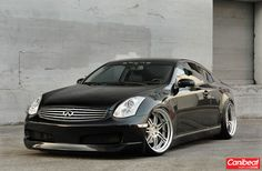 Infiniti G35 coupe on Work Varianza T1S