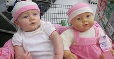27 Kids Who Look Just Like Their Dolls