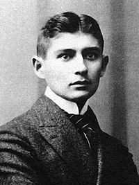 """""""A book must be the axe for the frozen sea inside us.""""  Franz Kafka in a letter to Oskar Pollack, 1904 (photo from 1905)"""