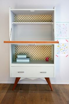 meubles secretaire vintage anatole 5 r nov s relooking meubles pinterest pastel girly et. Black Bedroom Furniture Sets. Home Design Ideas