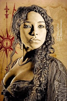 Black Sails (Max) portrayed by Jessica Parker Kennedy