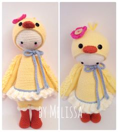 Chick mod made by Melissa / based on a lalylala crochet pattern