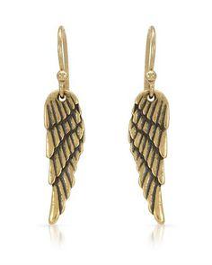 Ear - wings :) #Angel #Bidz #BidzAuctions Pilgrim, Danish Design, Wings, Drop Earrings, Denmark, Metal, January, Angel, Jewelry