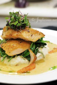 Plated Fish Presentation