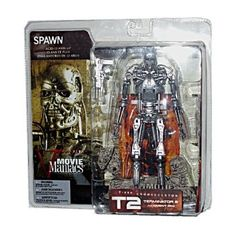 (Transformers Games For Kids)McFarlane - Movie Maniacs - Series 5 - Terminator 2 Judgement Day - Endoskeleton feature film figure w/accessories The Terminator 2, Reading Stories, Funny Stories, Feature Film, Games For Kids, Mcfarlane, Transformers, Action Figures, Nerd