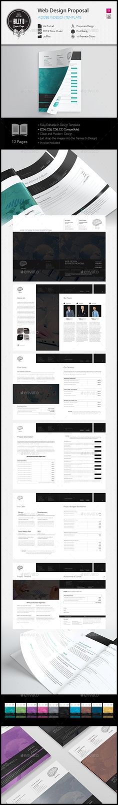 Web Design Proposal Template | Proposal templates, Proposals and ...