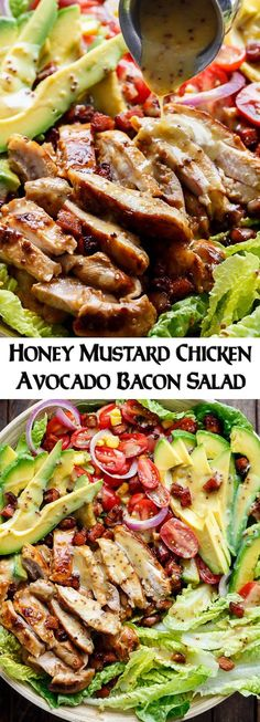 Mustard vinaigrettes are a healthy way to add flavor to salads! | #HealthyEating #CleanEating #Salads Sherman Financial Group