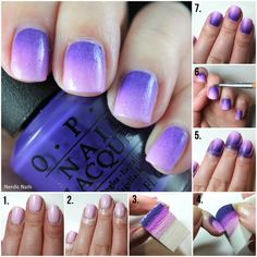 Gradient Tutorial on the blog now! Used OPI - Do You Have This Color In Stock-Holm? / China Glaze - That's Shore Bright / China Glaze - In A Lily Bit. All the other instructions and details can be found on the blog.