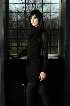 I can see myself wearing this to work.  Gothic Fashion - The Daily Record - Julie Hannah's Fashion Fix