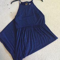 Long dress Brand new long spaghetti strap dress on height 5'4 to the ankles. Empire waist LOFT Dresses Maxi