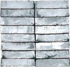 D91 Black Brick, Water Brush, Brickwork, Grey And White, Showroom, Holland, Tile Floor, Hardwood Floors, This Is Us