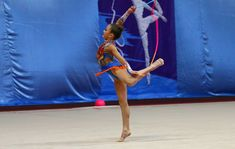 Rhythmic gymnastics with rope in Russia Children's competition in rhy. Rhythmic Gymnastics Training, Leotards, Russia, Competition, Youtube, Sports, Rhythmic Gymnastics, Navy Tights, Youtubers