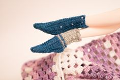 Pair of knitted socks for BOXX Sadhana Bardo от AntejaBoutique