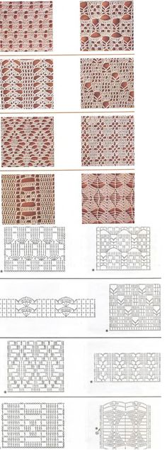 "crochet pattern graphs - I'm thinking curtains! ""crochet pattern graphs - I'm thinking curtains or a table cloth"", ""I really need to learn how to read d"