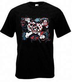 Camiseta MC Love Punk Negra
