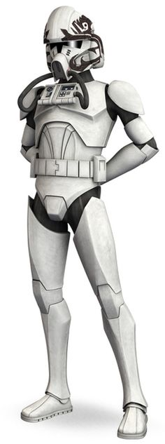 Warthog is a veteran clone trooper pilot who served in the Republic Navy's Hunter Squadron during the Clone Wars.