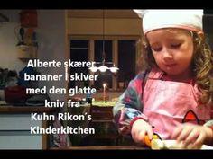 """www.Kitchen4kids.dk   Movie  """"Albertes salat"""""""