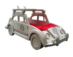 Love the new VW Herbie Beetle Theme Bed by Fun Furniture Collection!