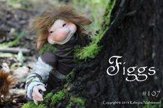 OOAK Nightswood Art Dolls: Figgs on Etsy!