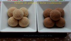Bolitas de galletas y leche condensada | Cocinar en casa es facilisimo.com me ha gustado mucho la idea, a ver si la hago, este finde.