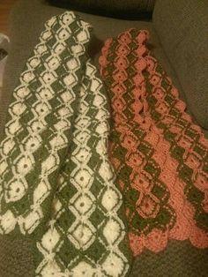 Bavarian scarfs Bavarian Crochet, Scarfs, Blanket, Scarves, Blankets, Cover, Comforters, Shawl